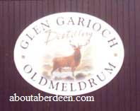 Glen Garioch Distillery Sign