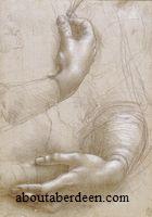 Leonardo da Vinci Hand Drawing
