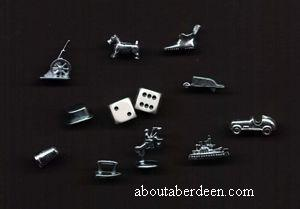 Monopoly Playing Pieces