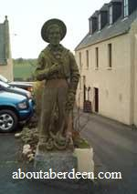 Oldmeldrum Sailor Statue