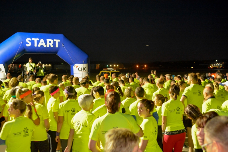 Aberdeen Airport Runway Midnight Charity Run