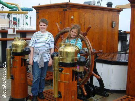 Aboard RRS Discovery