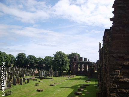Arbroath Abbey Graveyard