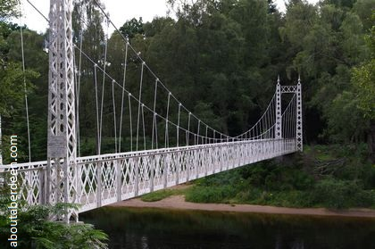 Cambus o May Suspension Bridge
