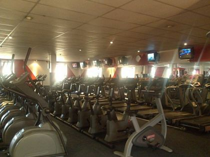 Cardio Section of Gym