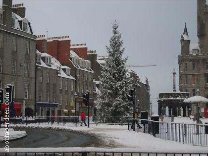 Aberdeen Castlegate Christmas Tree Switch On 2018 About