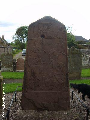 Celtic Carvings Churchyard