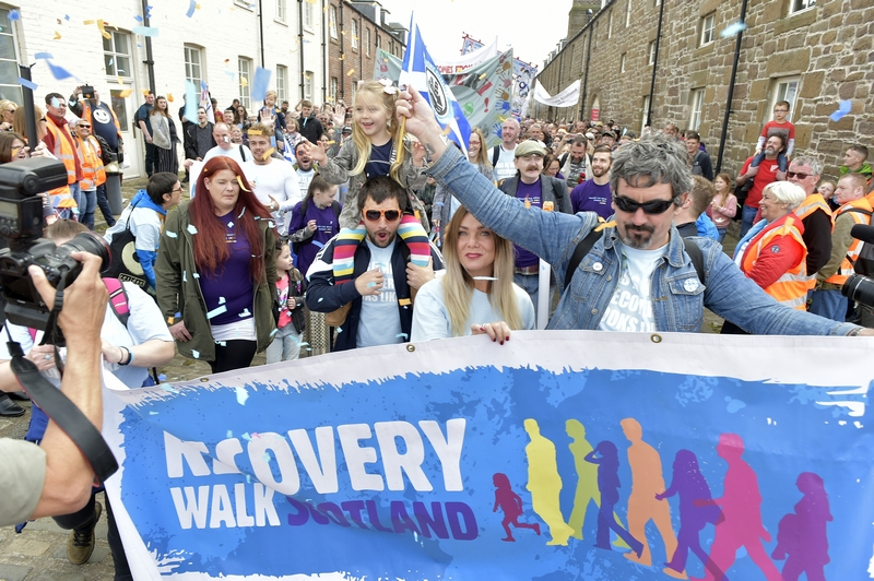 Connect 4 Recovery Aberdeen Recovery Walk Scotland 2018 Glasgow