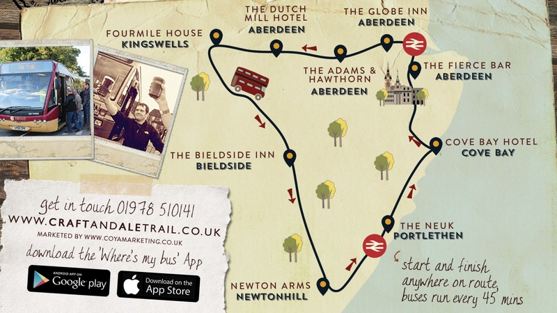 Craft and Ale Trail Aberdeen