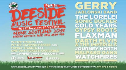 Deeside Music Festival NXNE Scotland 2018