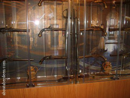 Display Of Castle Weapons