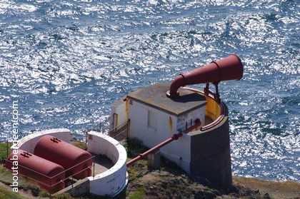 Foghorn mull of galloway lighthouse
