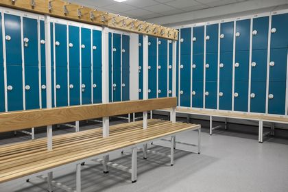 Gym Changing Rooms