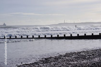 High Tide Aberdeen Beach