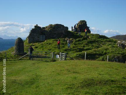 Isle of Skye Castle Ruin