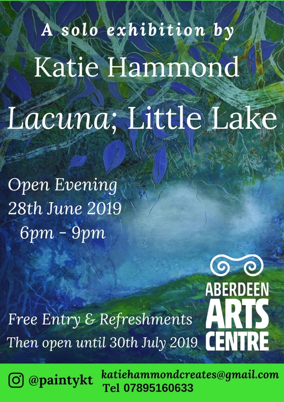Katie Hammond Solo Exhibition Lacuna Little Lake Aberdeen Arts Centre