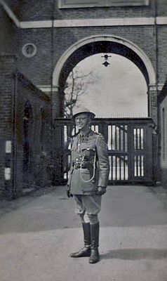 Major Duncan McIntyre Wilson Royal Artillery OC Torry Battery World War Two