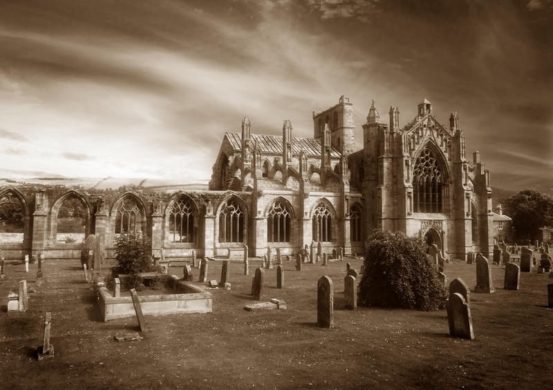Melrose Abbey Ghosts