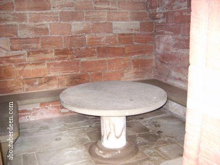 Old Marble Table