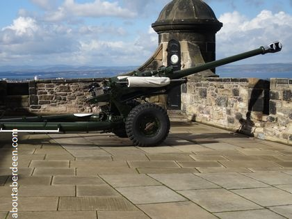 One O Clock Gun Edinburgh