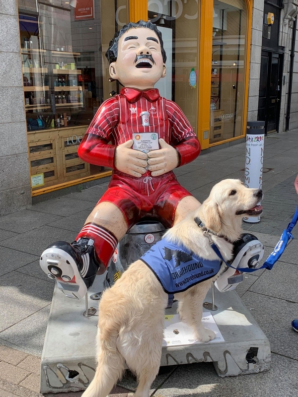 Oor Wullie Miller Sculpture by Sarah Mauchline