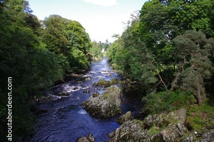 Panoramic View River Dee