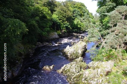 Photo Falls of Feugh River
