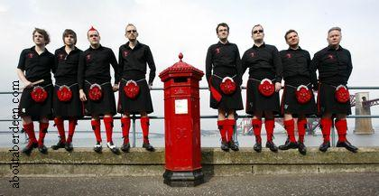Red Hot Chilli Pipers Scotland