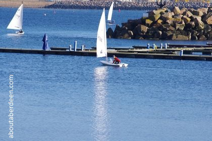 Sailing Peterhead Lido
