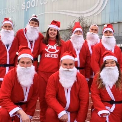 Santa fun run Obstacle Race