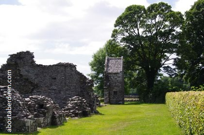 Scottish ruined abbey
