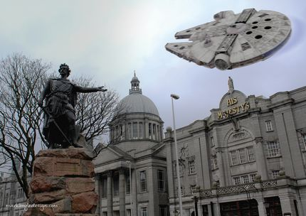 Star Wars Millennium Falcon His Majesty's Theatre William Wallace Aberdeen