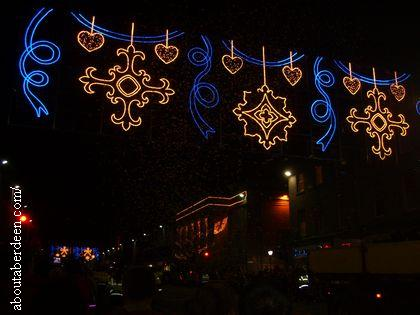 Union Street Aberdeen Christmas Lights