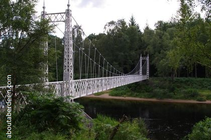 Victorian Suspension Bridge