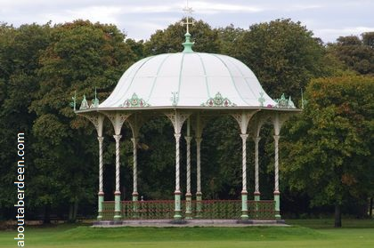 Victorian band stand