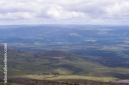 View from top cairngorms