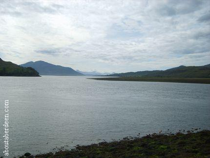 View From EileanDonan To The Isle Of Skye