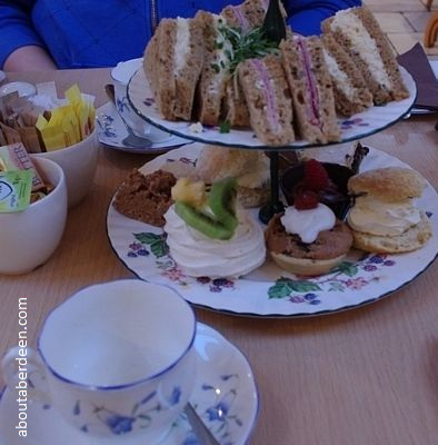afternoon tea aberdeenshire