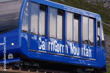 cairngorm mountain railway train