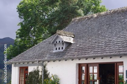dovecote in attic roof
