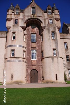 entrance Fyvie Castle