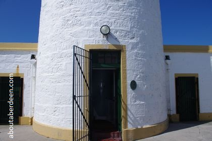 entrance to lighthouse
