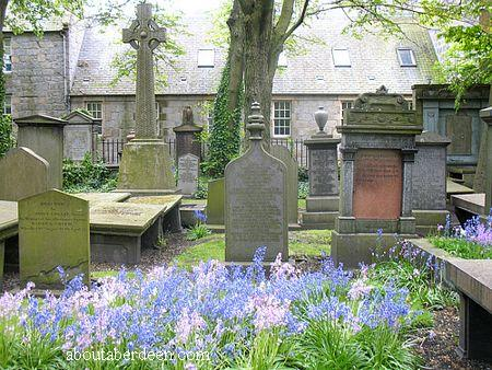 Flowers In Graveyard