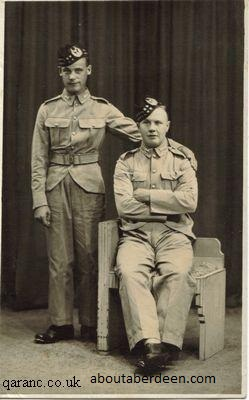 Gordon Highlanders WWII