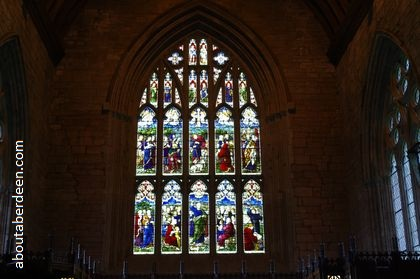 great east stained glass window