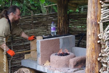 iron age worker demonstration