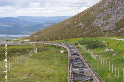 mountain railway track