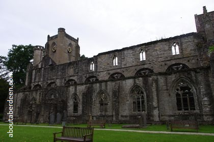 ruins of Dunkeld Cathedral