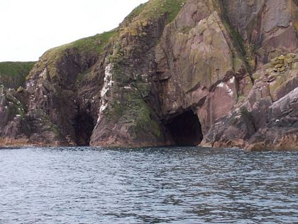 sea caves aberdeenshire