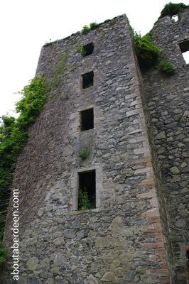 six storey scottish castle tower